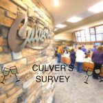 【CULVER'S SURVEY】Culver's Customer Satisfaction Survey